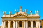 Basilica of Saint John Lateran in Rome, Italy. — Stock Photo