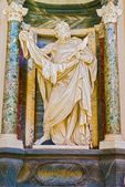 Sculpture in Basilica of Saint John Lateran in Rome, Italy. — Stock Photo