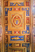 Ceiling in Basilica of Saint John Lateran in Rome, Italy. — Stock Photo