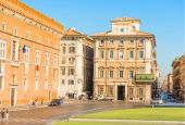 Piazza Venezia Rome, Italy — Stock Photo