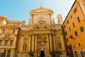 Church of San Marcello al Corso in Rome — Stock Photo