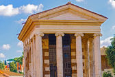 The temple of Portunus in Rome, Italy. — Photo