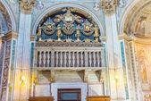 Organs in Santa Maria di Loreto church in Rome. — Stock Photo