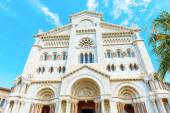 Monaco Cathedral — Stock Photo
