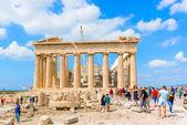Partheon in Acropolis, Athens, Greece. — Stock Photo