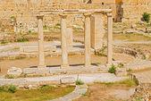 Biblioteca de Adriano en Atenas, Grecia — Foto de Stock