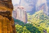 メテオラの rousanou の神聖な修道院 — ストック写真