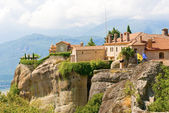 The Holy Monastery of St. Stephen, Meteora, Greece — Stock Photo