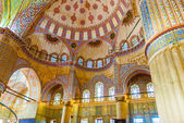 The Sultan Ahmed Mosque is a historic mosque in Istanbul, Turkey — Stock Photo