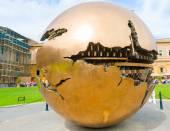 Globe in the Vatican Museum — Stock Photo