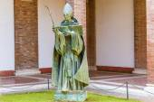 St. Anzelm statue in Rome, Italy. — Foto Stock
