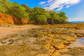 Rocks at the coast in Santa Catalina in Panama. — Stock Photo