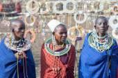 Masai woman in Tanzania — Stock Photo