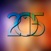 New Year 2015 background concept — Stock Photo