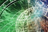 布拉格天文钟 (布拉格天文钟) — 图库照片