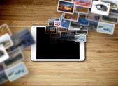 Tablet IT technology concept — Foto de Stock