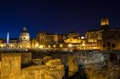View of Rome historic center, Italy — Stock Photo