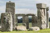 Stonehenge monument near Salisbury, Wiltshire, UK — Stock Photo
