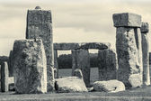 Stonehenge near Salisbury, Wiltshire, UK. Vintage photo. — Stock Photo