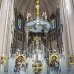 Interior of Cathedral of Saints Olga and Elizabeth, Lviv, Ukraine — Stock Photo #60818675