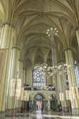 Interior of Cathedral of Saints Olga and Elizabeth, Lviv, Ukraine — Stock Photo