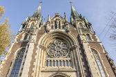 Cathedral of Saints Olga and Elizabeth, Lviv, Ukraine — Stock Photo