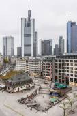 Aerial view of Frankfurt, Germany — Stock Photo