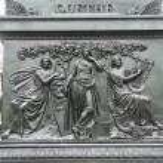 Statue of Goethe in Frankfurt, Germany — Stock Photo #61040689