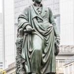 Statue of Goethe in Frankfurt, Germany — Stock Photo #61040693