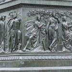 Statue of Goethe in Frankfurt, Germany — Stock Photo #61040695