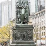 Statue of Goethe in Frankfurt, Germany — Stock Photo #61040697