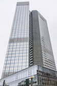 Modern architecture in Frankfurt am Main, Germany — Stock Photo