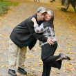 Down syndrome couple in love — Stock Photo #56504863
