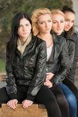 Vier freunde — Stockfoto
