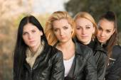 Group of female friends — Stock Photo
