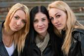 Happy female friends — Stock Photo
