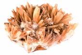 Cluster of twinned aragonite — Stock Photo