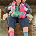 Down syndrome couple — Stock Photo #67279845