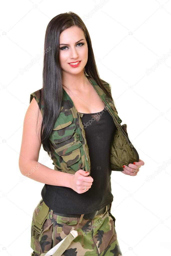 army wearing clothes fucked girls