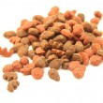Cat food close-up isolated on white background — Stock Photo #60194587