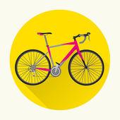 Vintage Bicycle Vector Design — Vector de stock