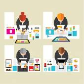 Business and Officel Vector Design — Stockvector