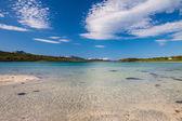 Paradise beach of Lofoten — Stock Photo