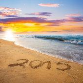 New year 2015 digits — Stok fotoğraf