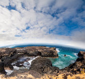 Strand lansarote - kanarische insel — Stockfoto