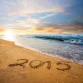 New year 2015 digits — Stock Photo