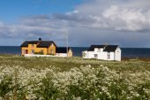 Vaeroy island, Lofoten island,Norway — Foto de Stock