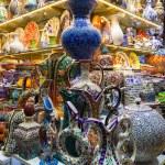 Classical Turkish ceramics on the market — Stock Photo #63261019