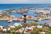 ロフォーテン諸島、ノルウェー - カリ ・ ブレムネスの郷 — ストック写真