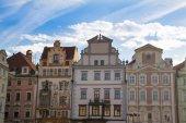 プラハの古い町の広場を見る. — ストック写真
